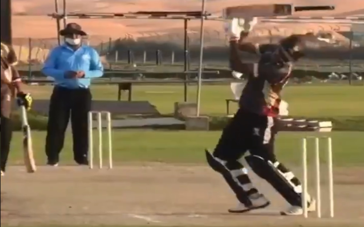 cricket images for weird and funny dismissal in cricket watch video
