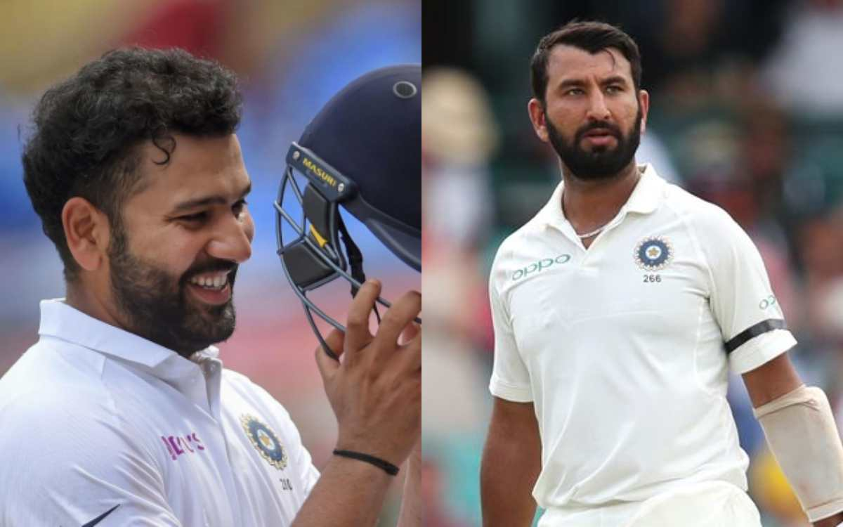 why cheteshwar pujara removed and rohit sharma appointed vice captain of test team here is the reaso