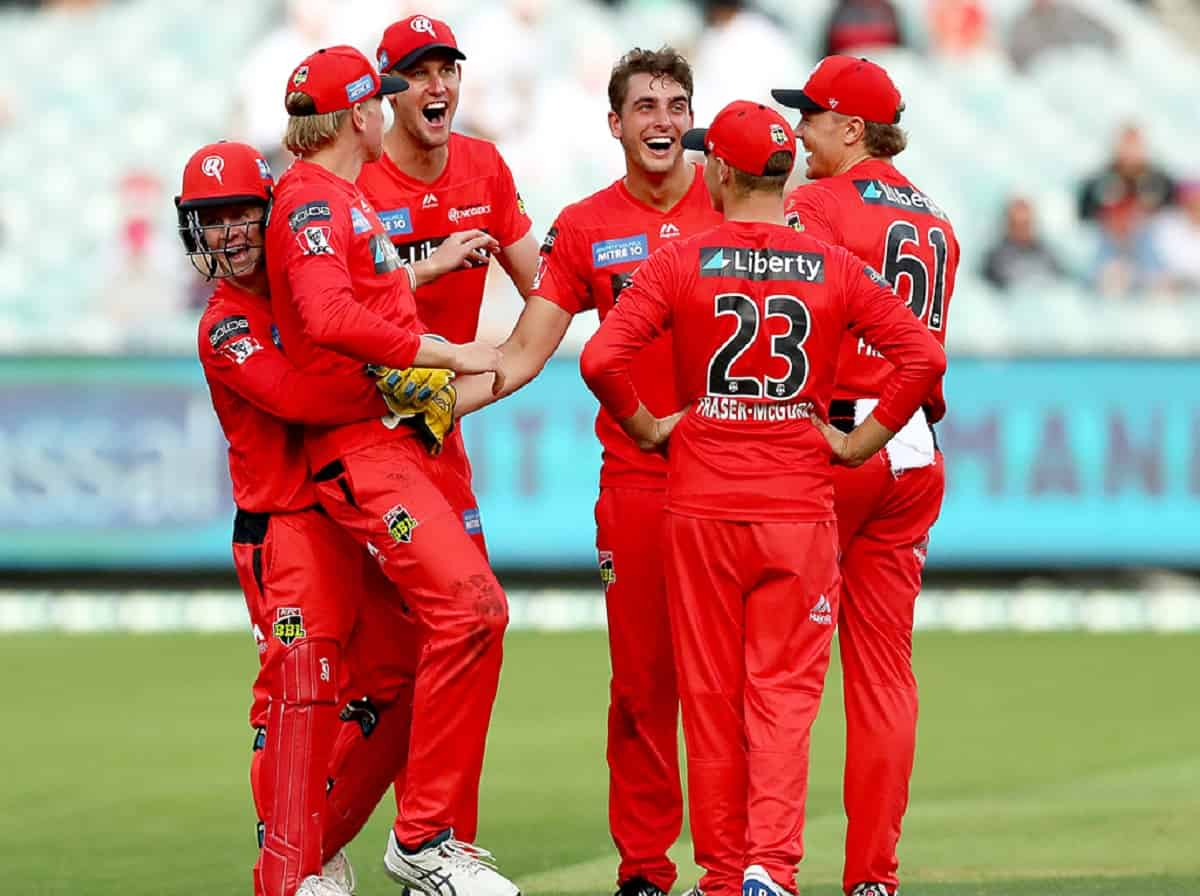 Cricket Image for Zak Evans Takes 5 Wickets, Melbourne Renegades Beat Hobart Hurricanes By 11 Runs
