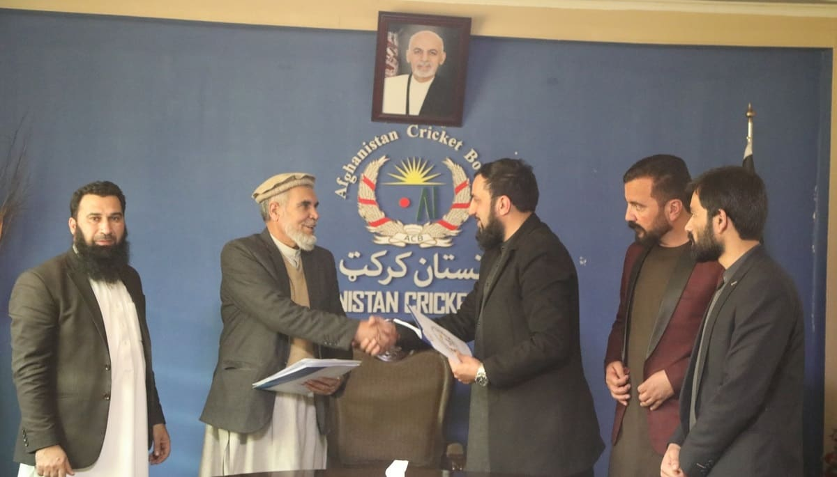 Afghanistan Cricket Board appoints a company for construction of second phase of Najeeb Stadium