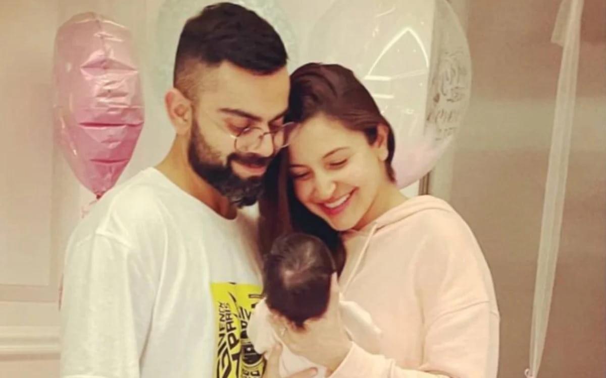 Cricket Image for  Anushka Sharma Revealed Her Daughter's Name, Shared Photo With Virat Kohli
