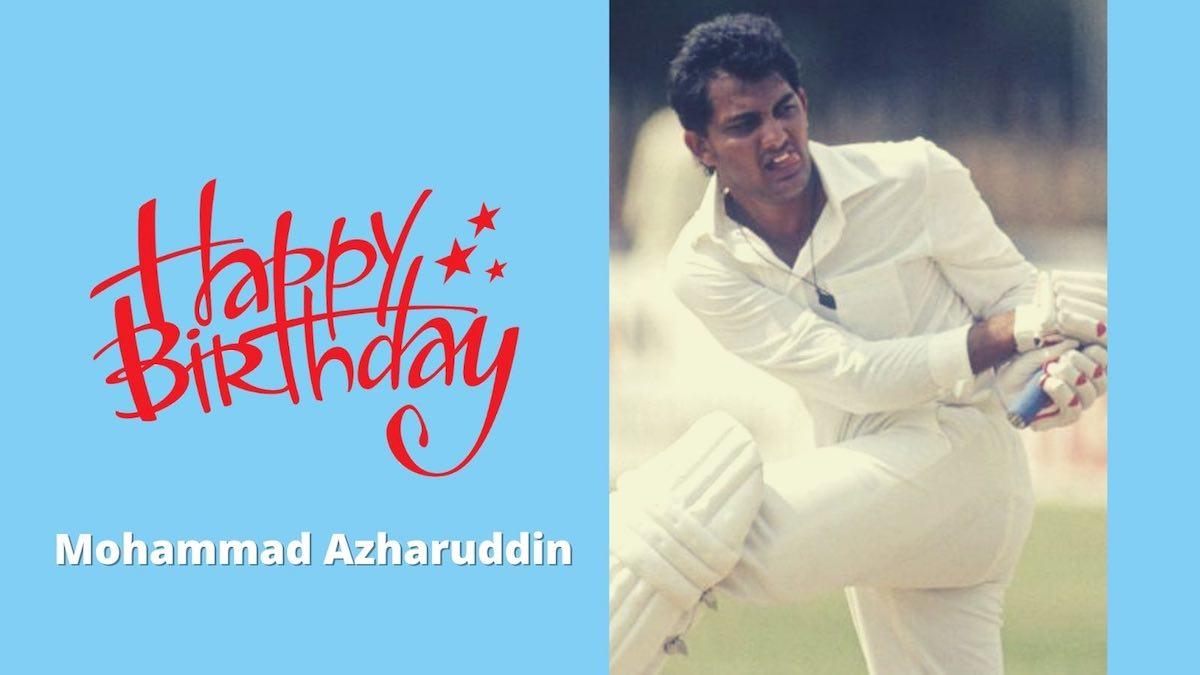 Mohammed Azharuddin Birthday