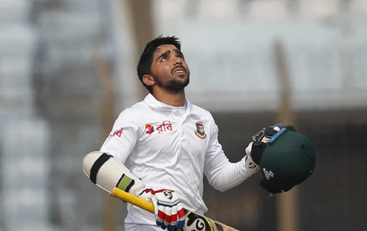 Cricket Image for बांग्लादेश के कप्तान मोमिनुल हक ने शतक जड़कर बनाया अनोखा World Record, कोई खिलाड़ी