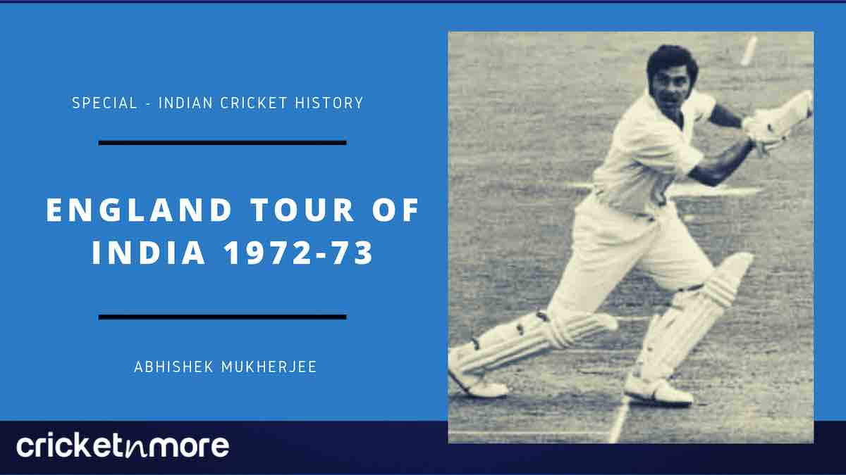 England Tour Of India 1972-73