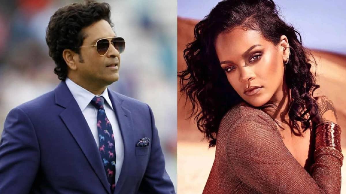 Farmer Protest: Sachin and Virat kohli gave their opinion on Rihanna