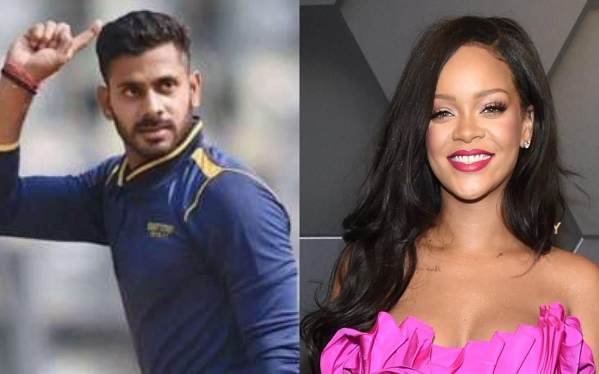 Cricket Image for Manoj Tiwari Indirectly Supports Rihanna