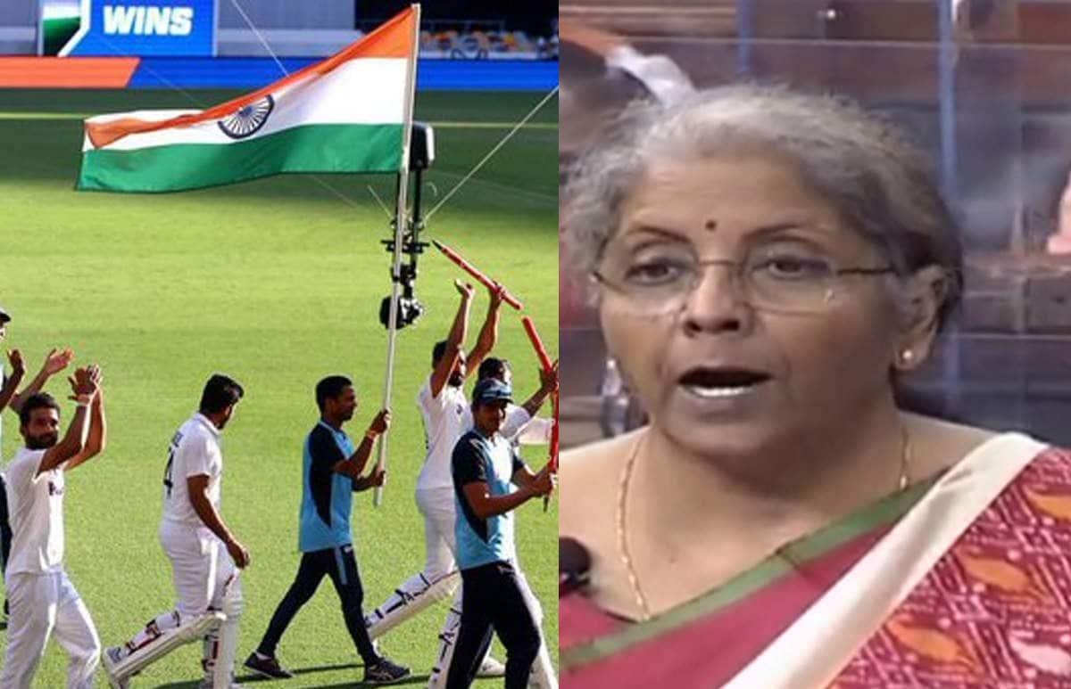 Finance Minister Nirmala Sitharaman Gives Special Mention To Team India For Spectacular Success In A