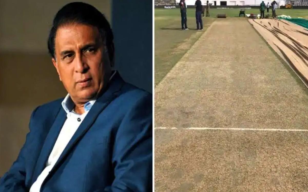Cricket Image for Epic Trolling By Sunil Gavaskar On Chennai Pitch Debate