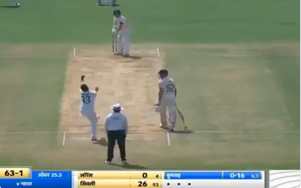 Cricket Image for Jasprit Bumrah First Test Wicket On Home Soil