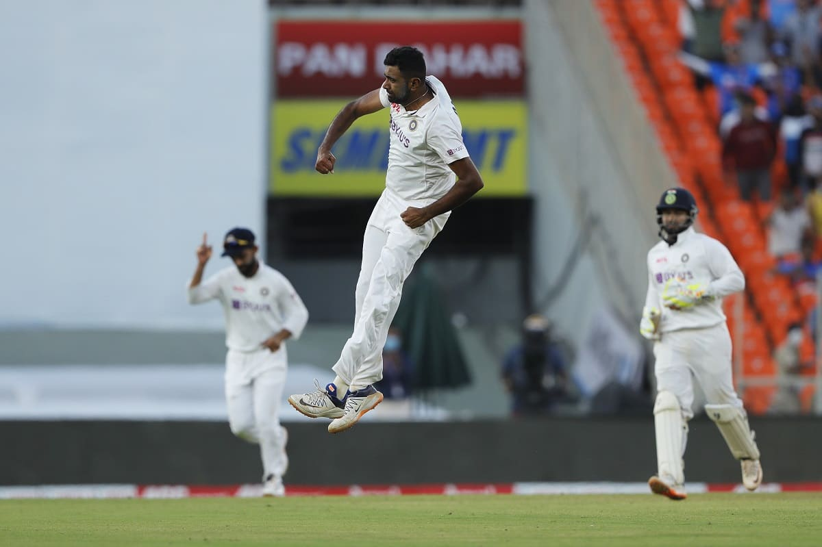 R Ashwin reaches the milestone of 400 test wickets