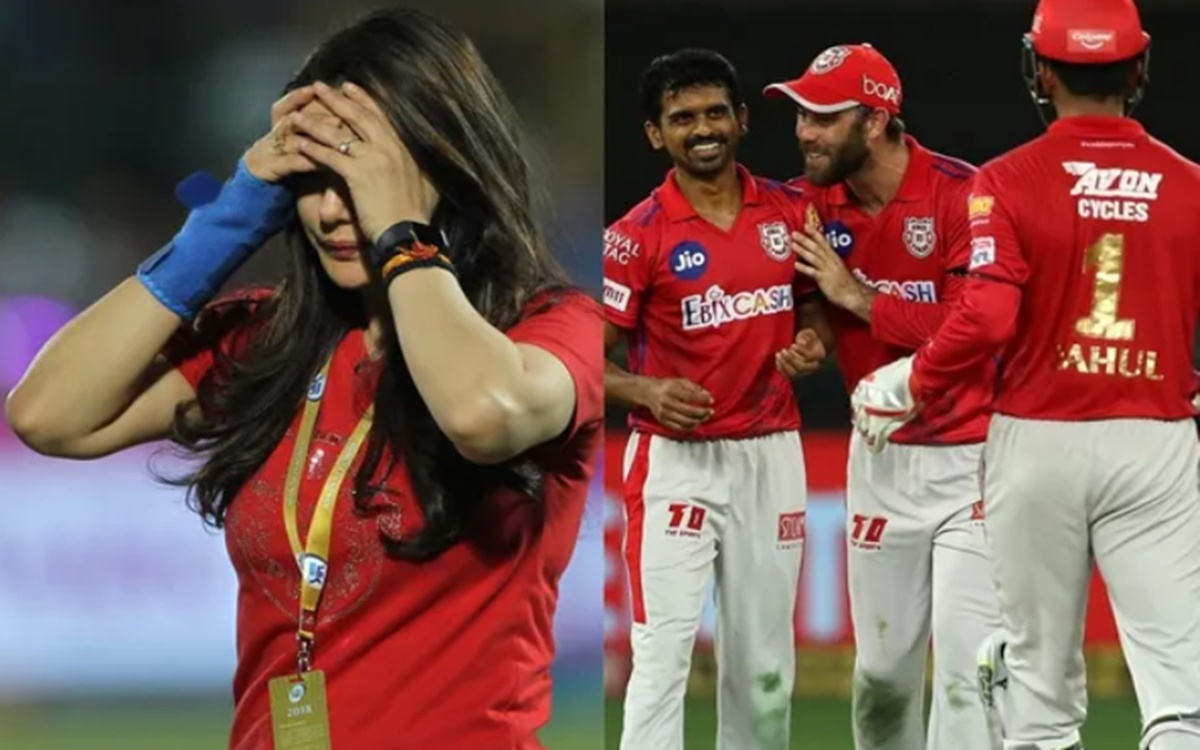 Cricket Image for Preity Zinta Team Kings Xi Punjab Might Be Change Name Logo And Jersey