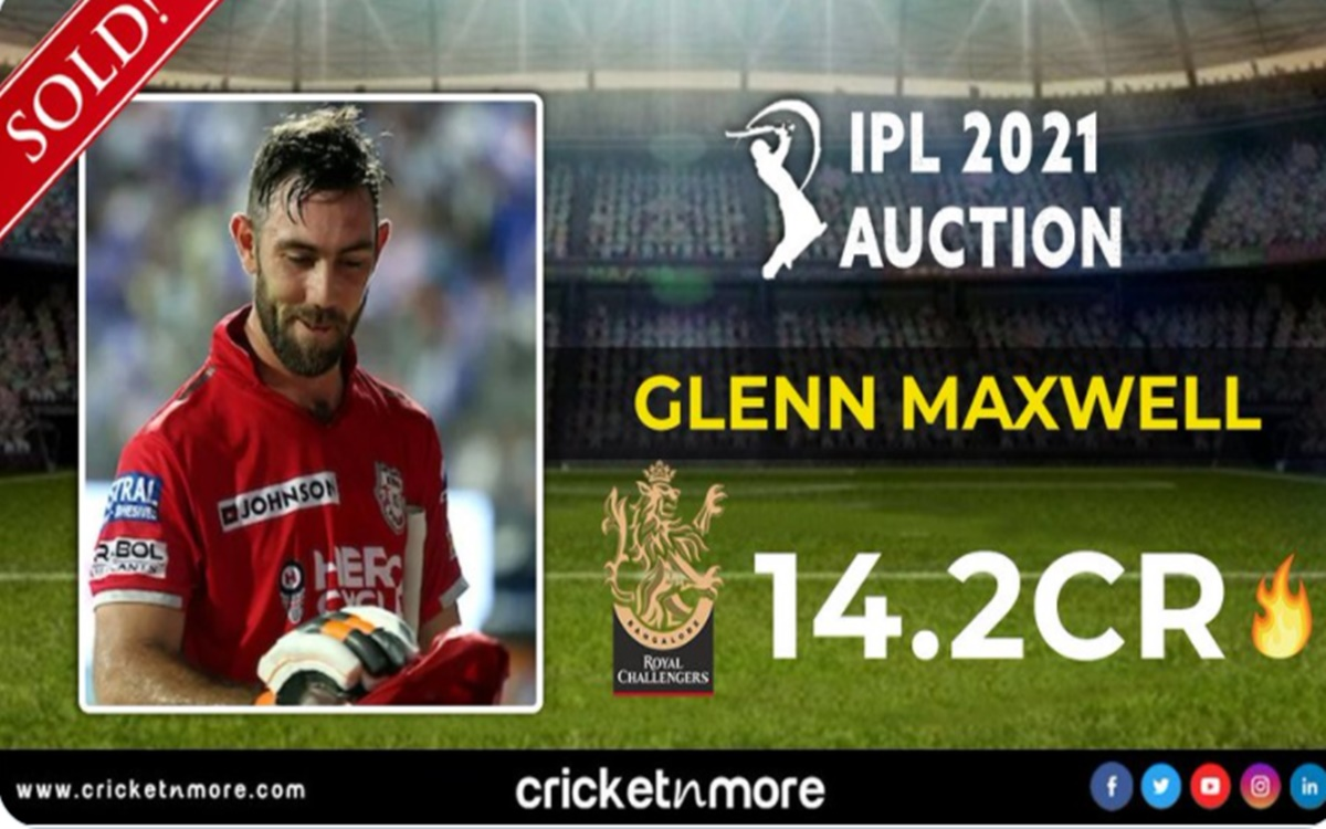 Cricket Image for Ipl Auction 2021 Twitter Reaction After Glenn Maxwell Sold To Rcb For More Than 14