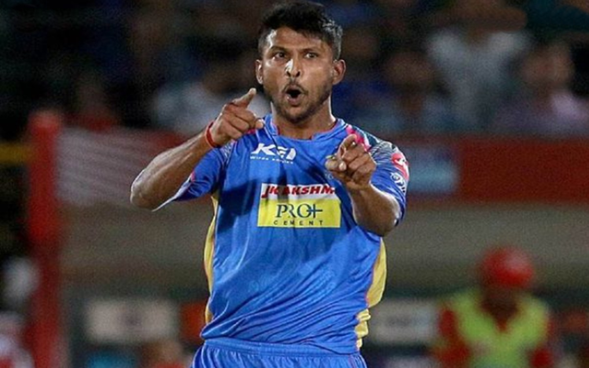 Cricket Image for Ipl Auction 2021 K Gowtham Emotional After Becoming The Most Expensive Uncapped Pl