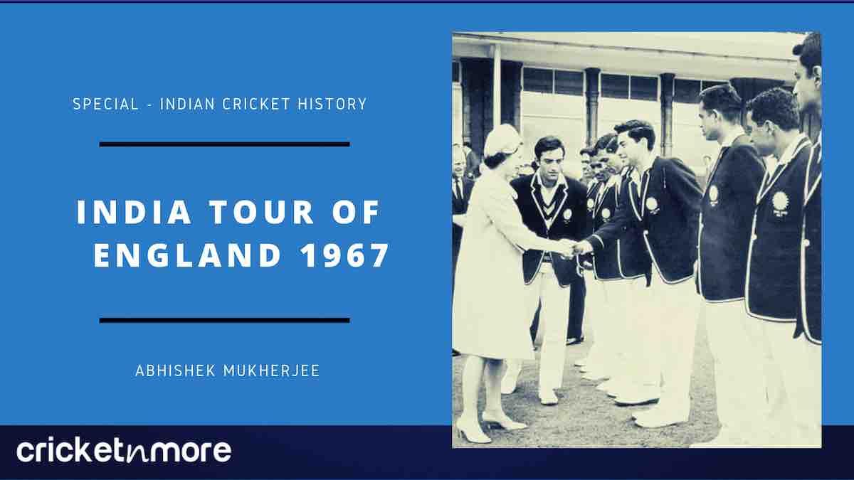 India Tour Of England 1967