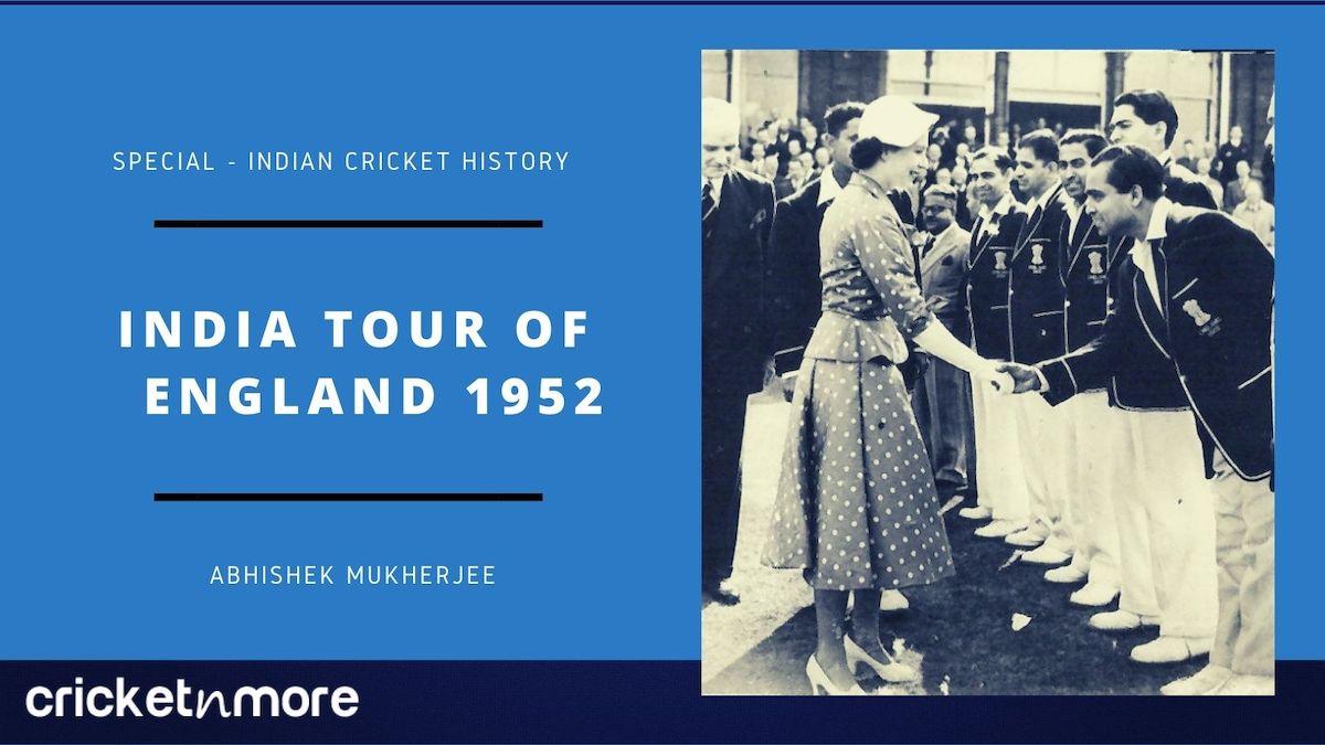 India Tour Of England 1952