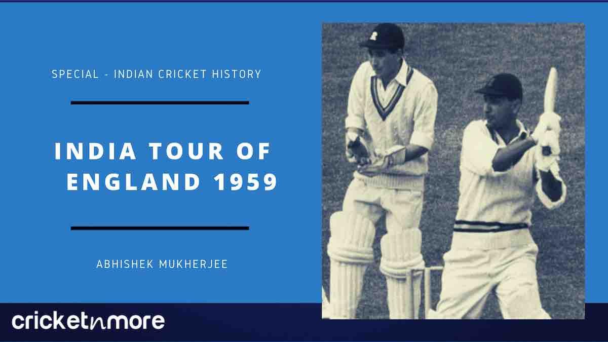 India Tour Of England 1959