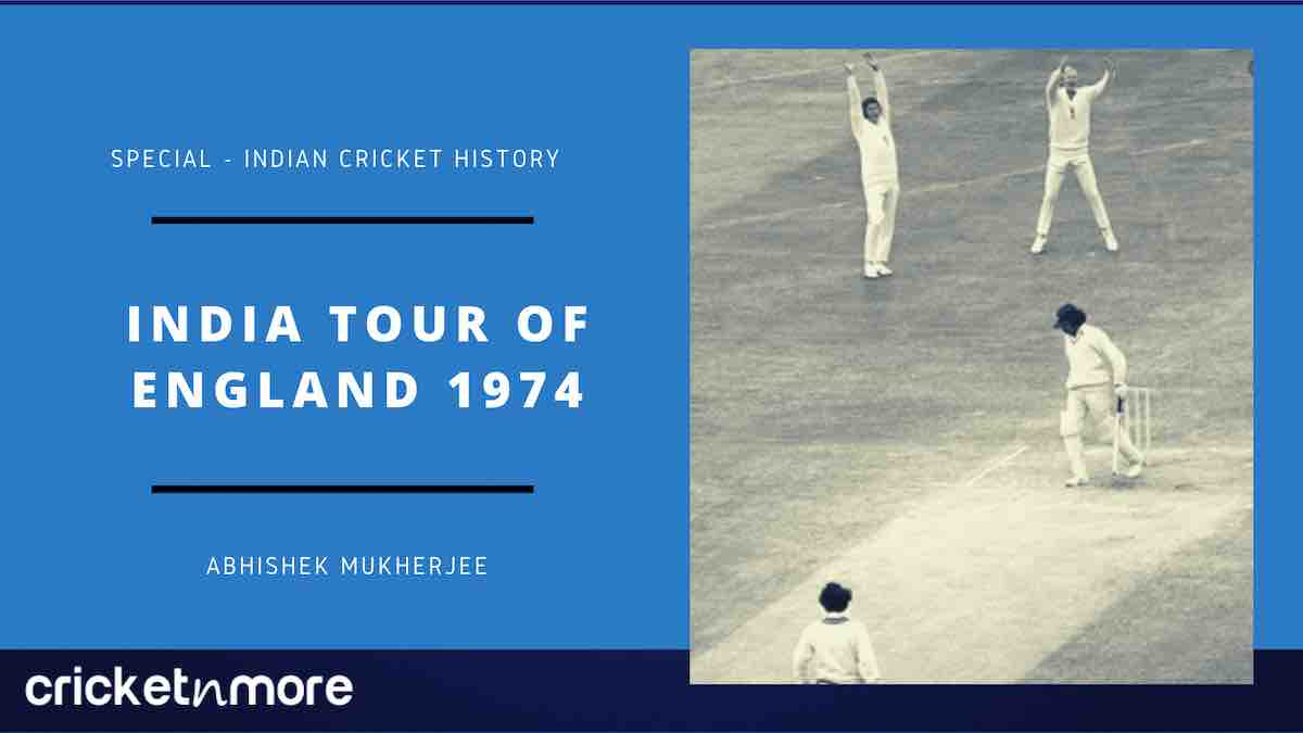 Cricket image for India Tour Of England 1974