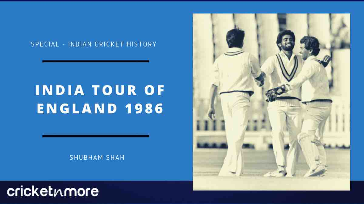 India tour of England 1986