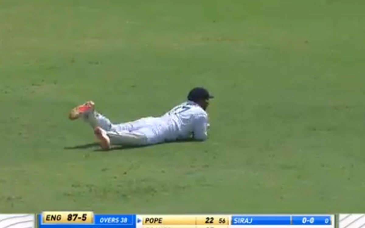 Cricket Image for  Rishabh Pant Takes A Blinder To Dismiss Ollie Pope