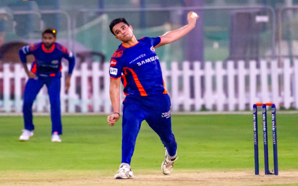 Cricket Image for Indian Premier League 2021 Player Auctions Arjun Tendulkar Sold To Mi For 20 Lac i
