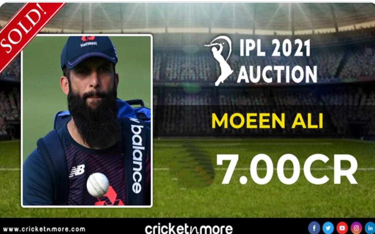 Cricket Image for IPL 2021: 2 करोड़ के मोईन अली को मिले 7 करोड़, पंजाब हुई बेबस इस टीम ने मारी बाजी
