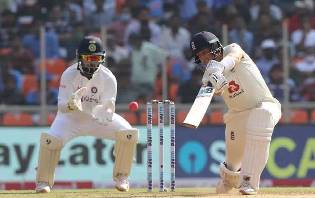 England are bowled out for 112. This is their lowest ever 1st innings Test score in India