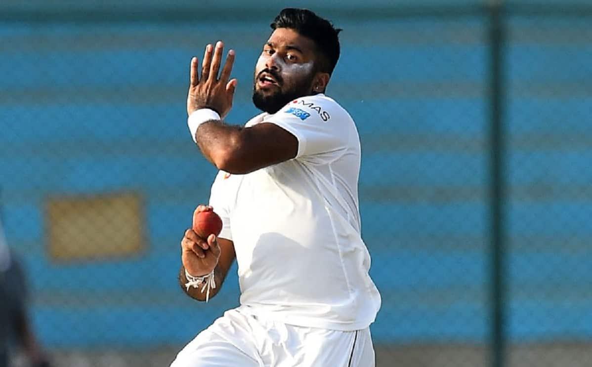 Cricket Image for वेस्टइंडीज दौरे से पहले श्रीलंका क्रिकेट टीम को झटका, ये खिलाड़ी हुआ कोरोना से संक