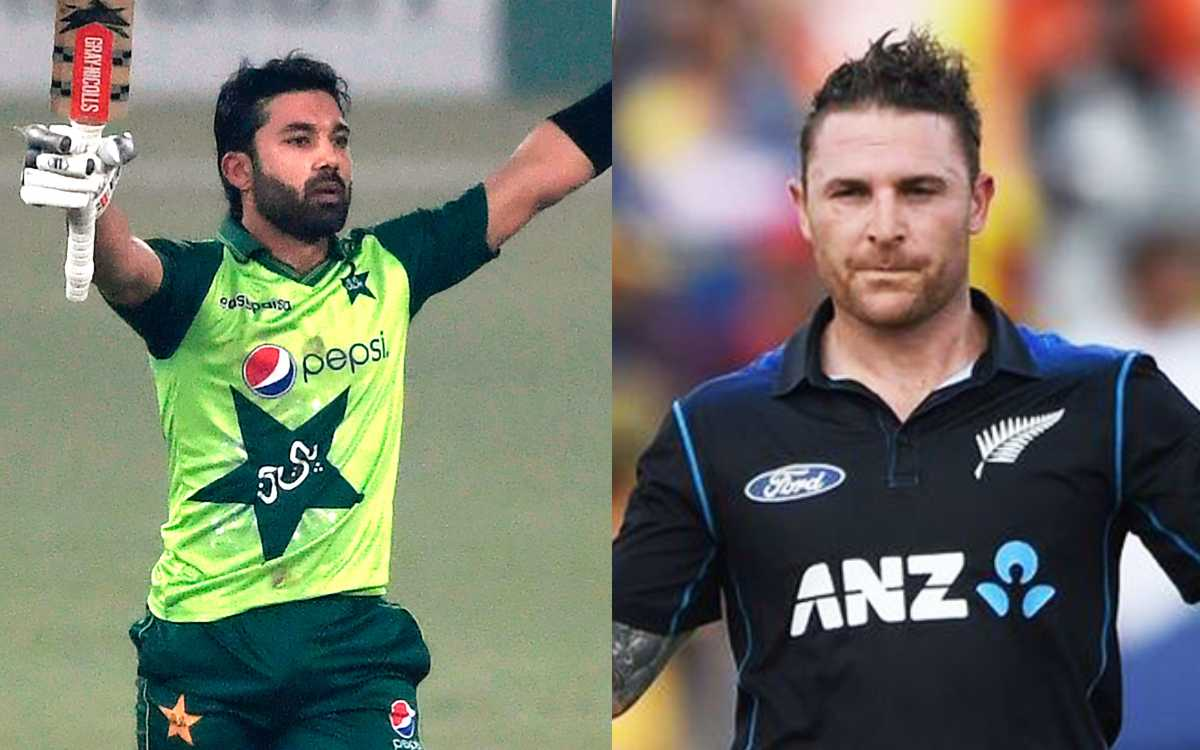 Cricket Image for Pakistan's Mohammad Rizwan Joins Brendon McCullum In Unique List