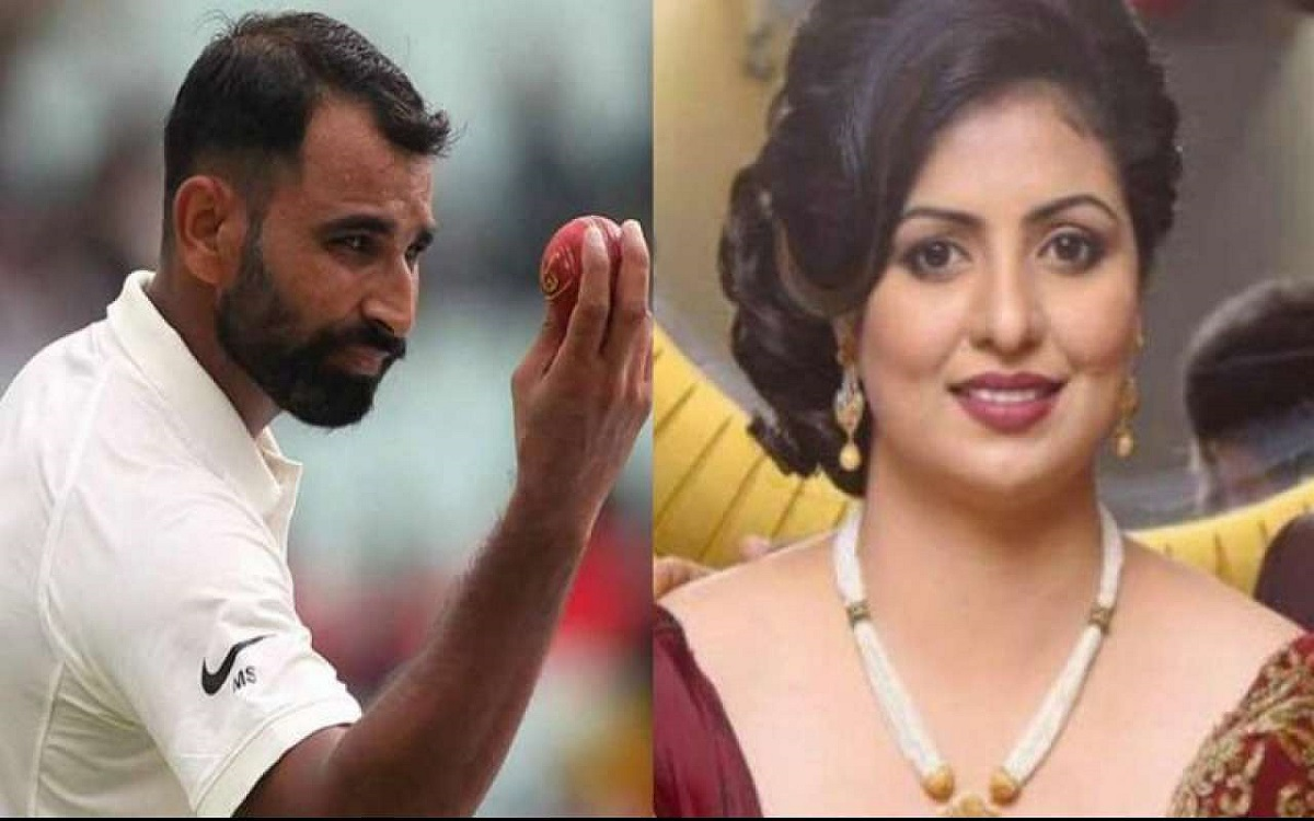 Cricket Image for Mohammed Shami Wife Hasin Jahan Changes Daughter Surname in Hindi