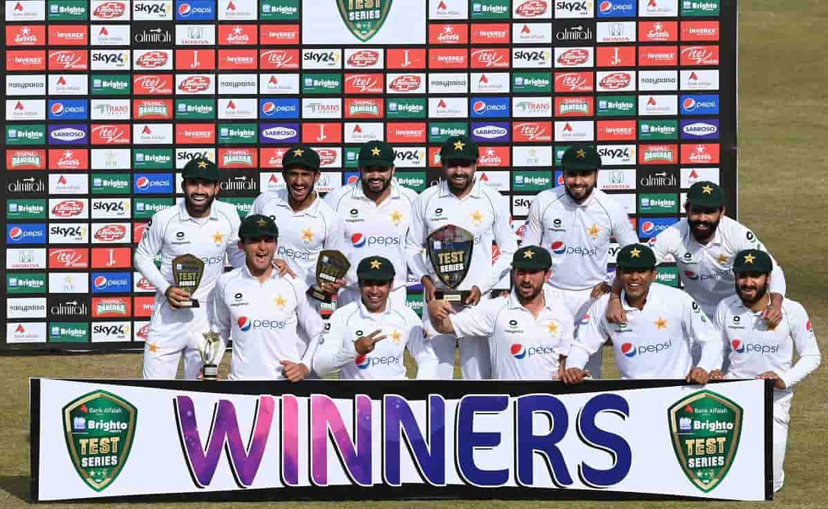 Pakistan ICC Test Ranking