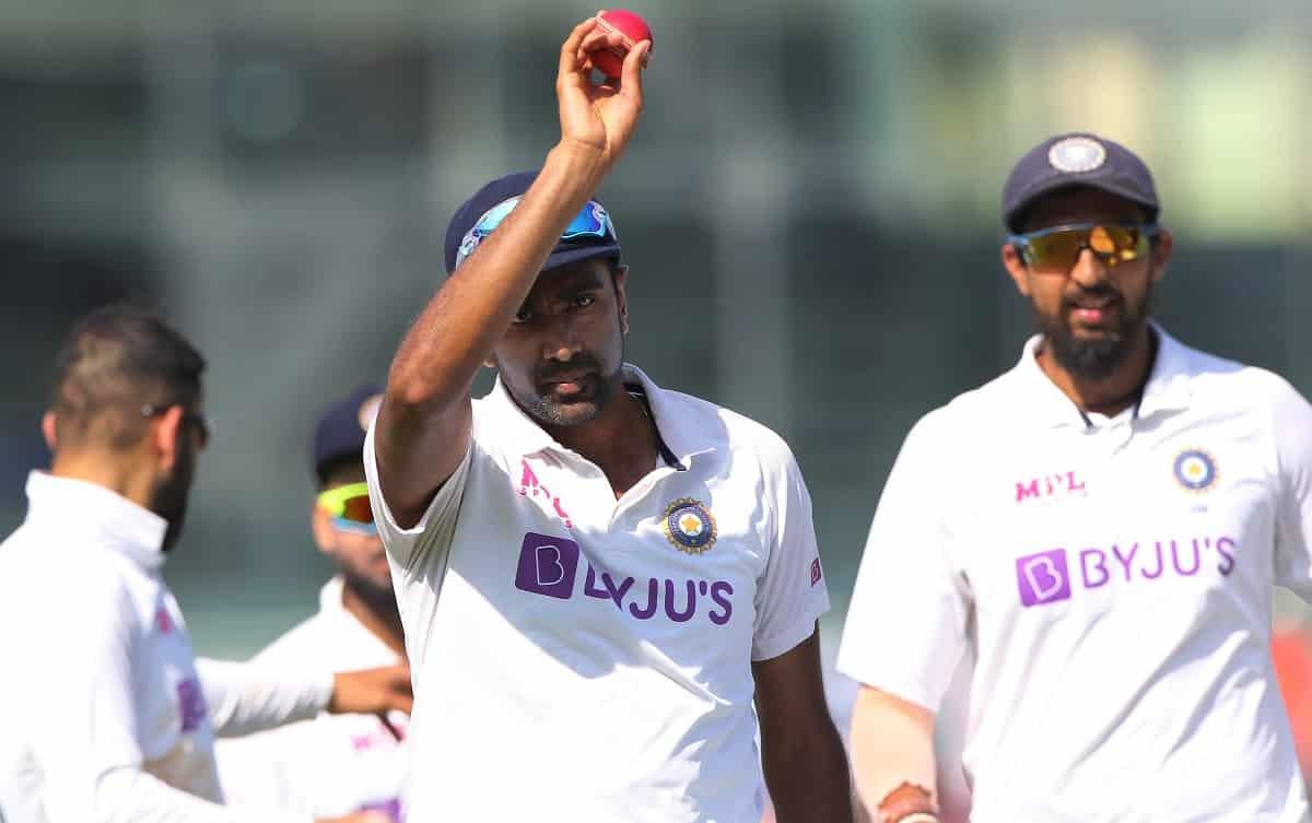 Cricket Image for रविचंद्रन अश्विन ने टेस्ट क्रिकेट में पूरा किया अनोखा 'दोहरा शतक', ऐसा करने वाले द