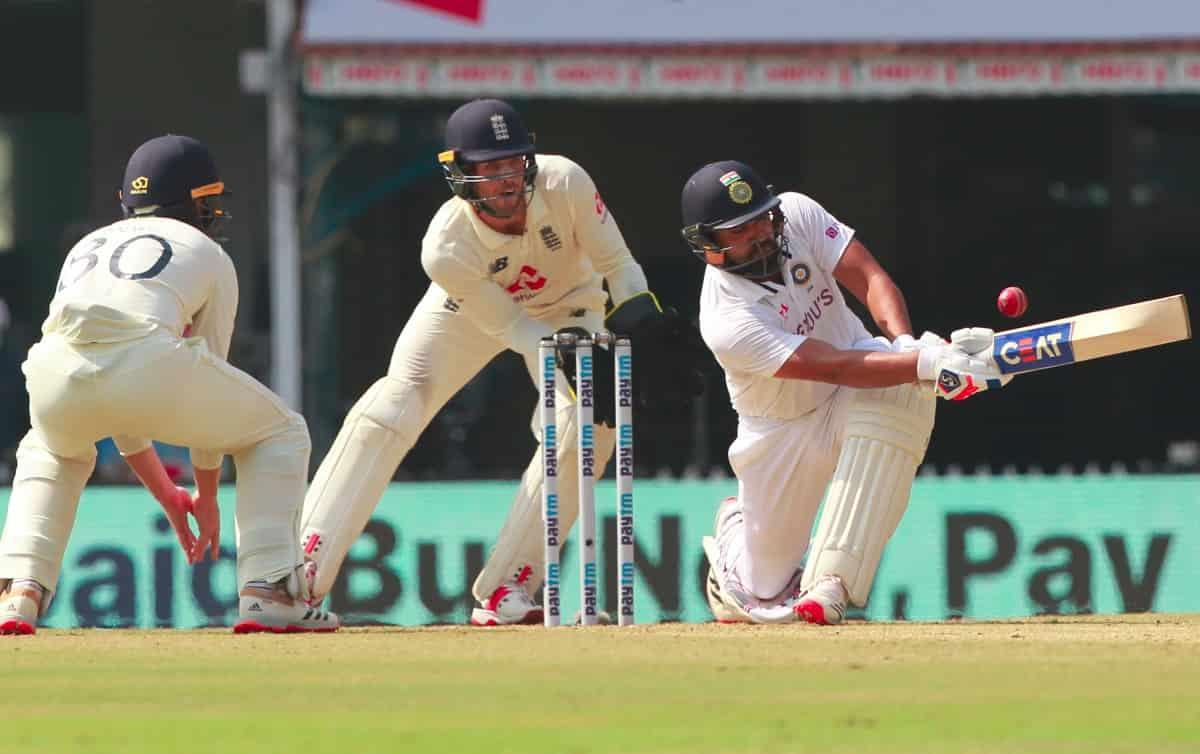 Cricket Image for दूसरा टेस्ट(लंच रिपोर्ट): टीम इंडिया की खराब शुरुआत, लेकिन रोहित शर्मा पहुंचे तूफा