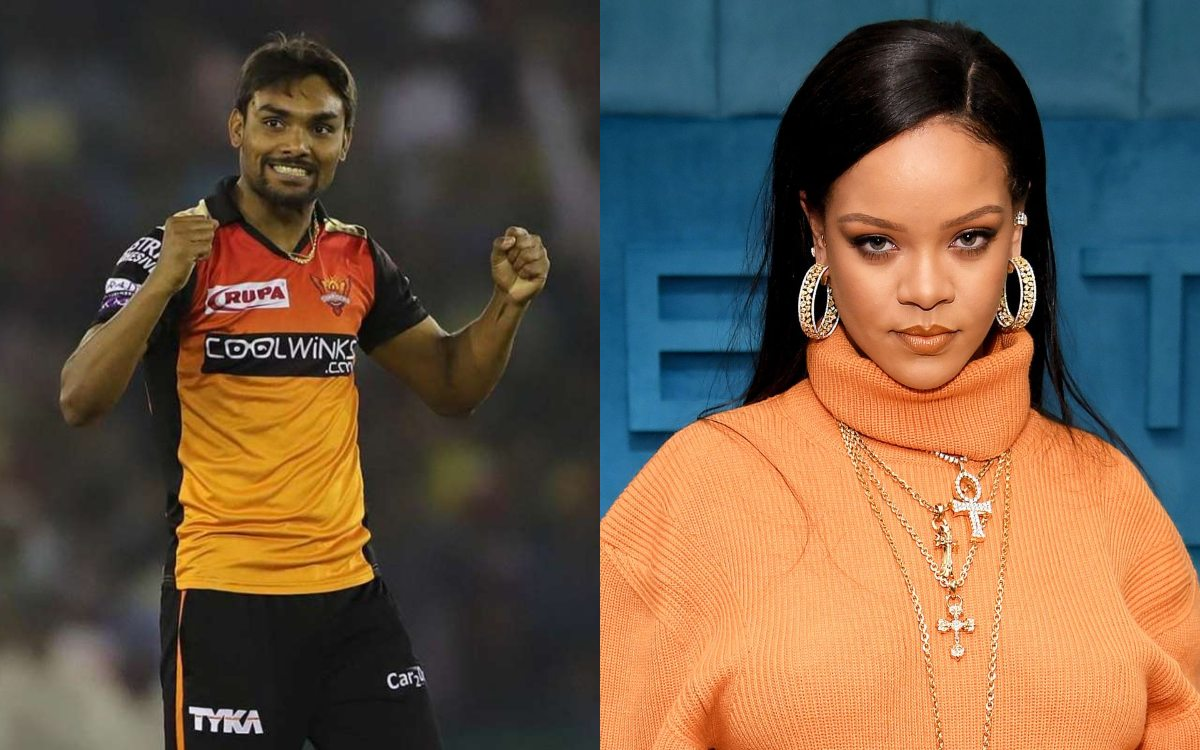 Cricket Image for Srh Bowler Sandeep Sharma Reacts After Rihanna Supports Farmers Protest in Hindi