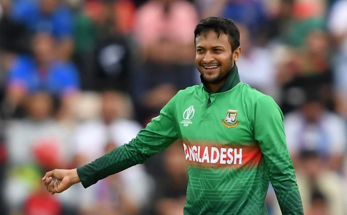 Bangladesh allrounder Shakib Al Hasan