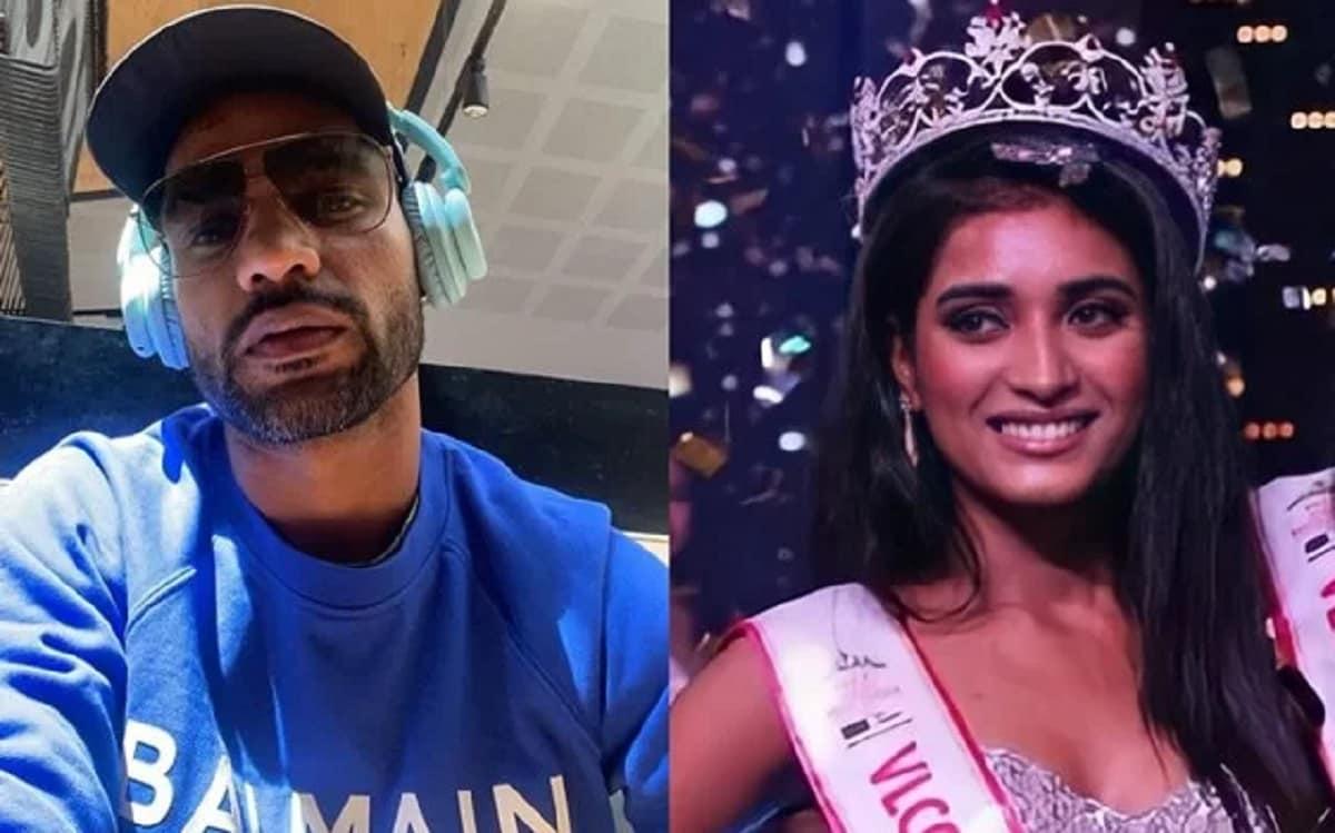 Shikhar Dhawan lauds Miss India 2020 runner up Manya Singh's inspirational saga