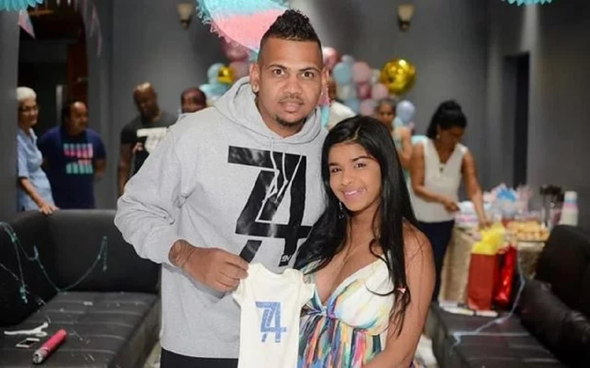 Sunil Narine and wife Anjellia blessed with a baby boy