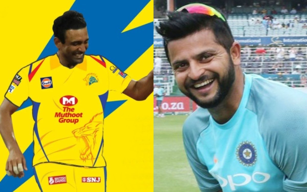 Cricket Image for IPL 2021 Suresh Raina Welcomes Robin Uthappa To Csk In A Funny Way