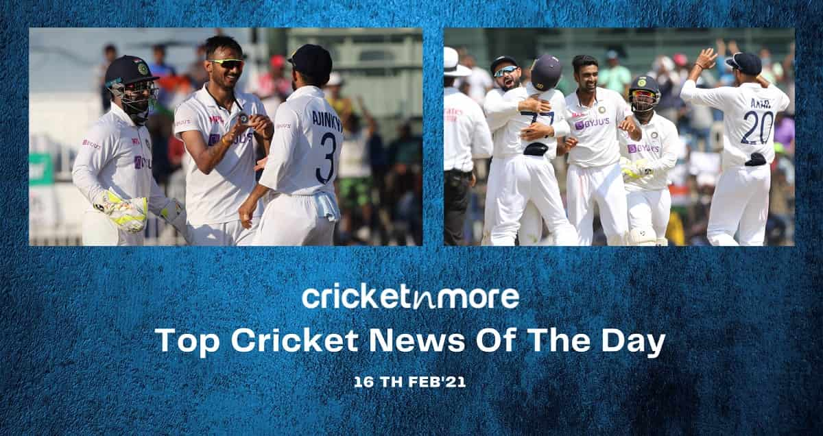 Top Cricket News Of The Day 16th February