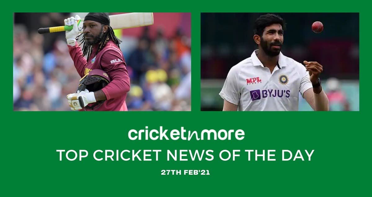 Top Cricket News Of The Day 27th Feb