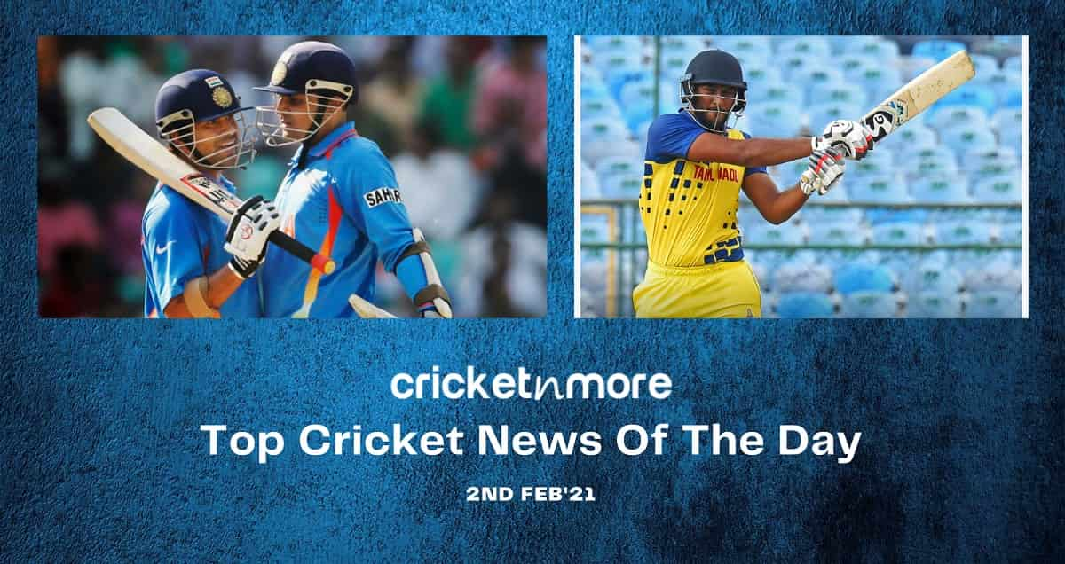 Top Cricket News Of The Day 2nd Feb
