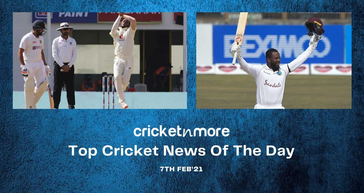 Top Cricket News Of The Day 7th Feb