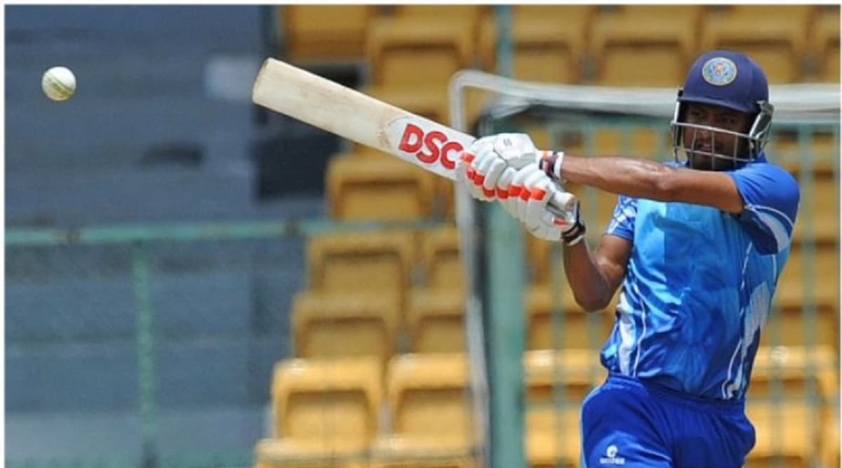 This batsman hit 312 runs including 26 sixes in 129 balls