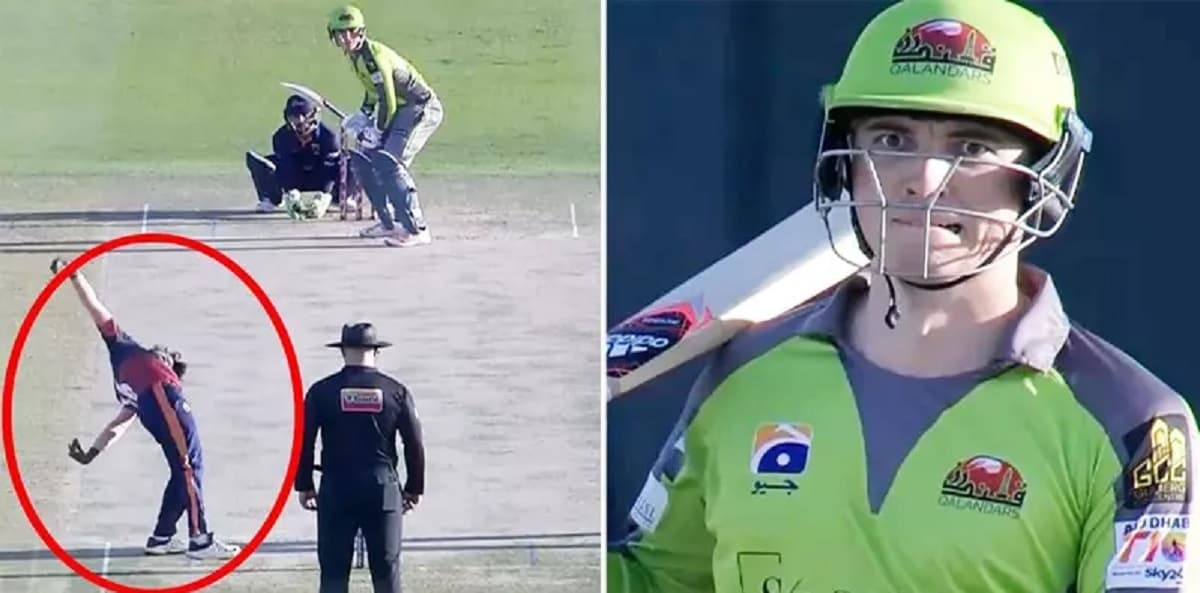 Video Tom Banton reacts to Kevin bowling style in Abu Dhabi T10 league