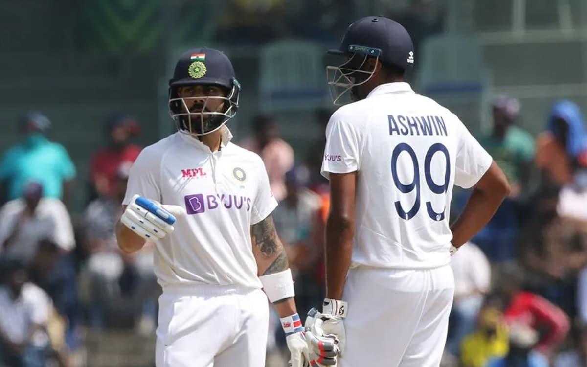 Cricket Image for India vs England, 2nd Test: कोहली, अश्विन ने संभाली टीम इंडिया की पारी