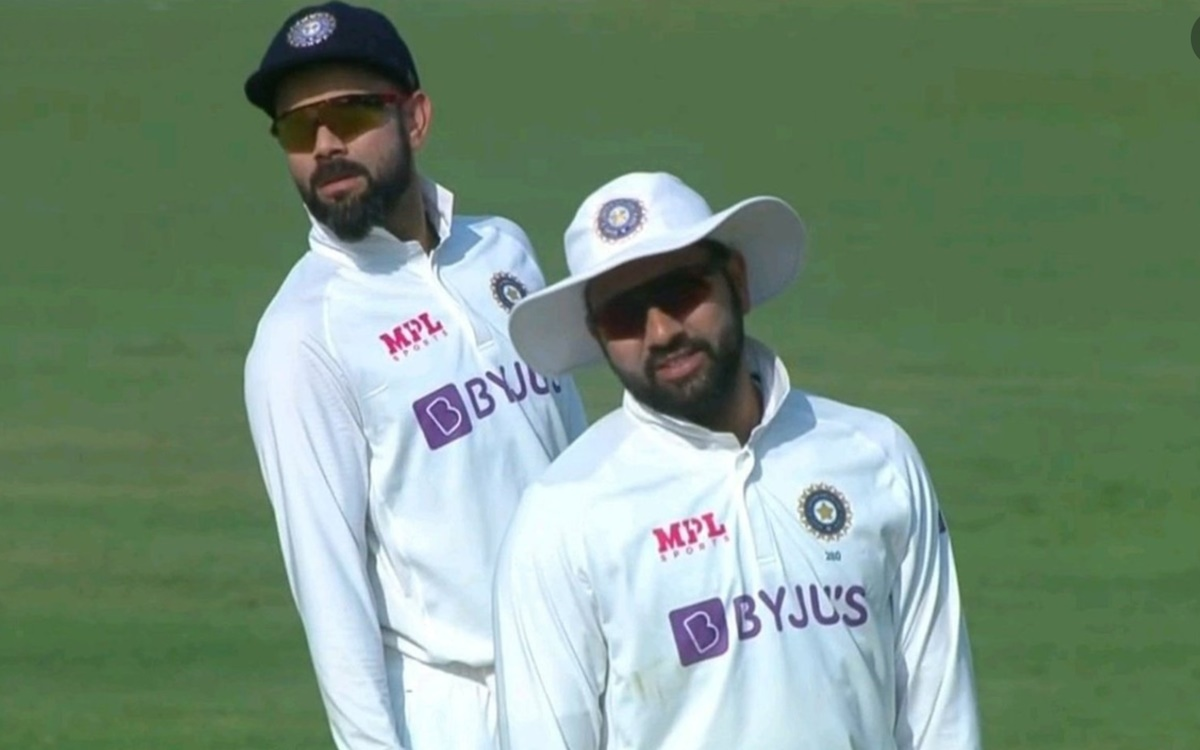 Cricket Image for  Virat Kohli And Rohit Sharma Picture Goes Viral