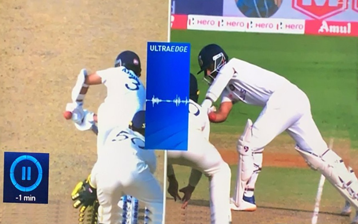 Cricket Image for Third Umpire Anil Chaudhary Committed An Error During A Drs Call