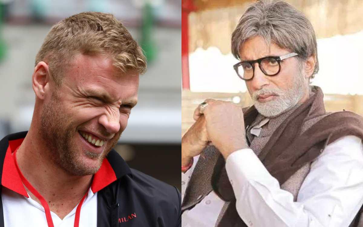 Cricket Image for एंड्रयू फ्लिंटॉफ ने अमिताभ बच्चन को किया ट्रोल, रूट की डबल सेंचुरी के बाद याद