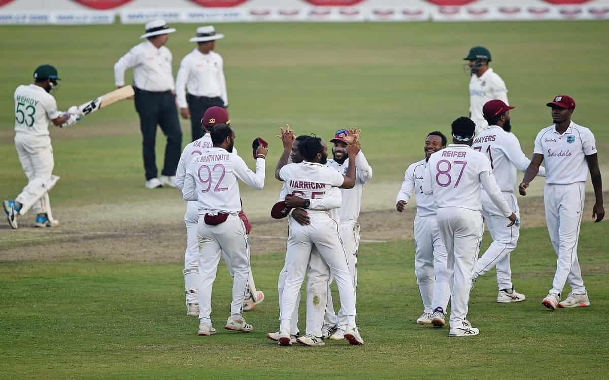 Cricket Image for Ban Vs Wi West Indies Beat Bangladesh By 17 Runs To Win The Series At Dhaka