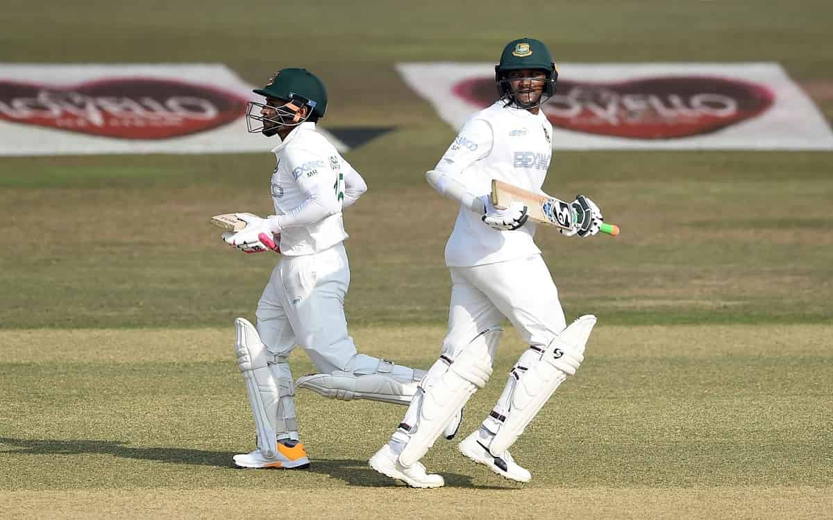 Cricket Image for BAN vs WI: Bangladesh Score 242/5 On First Day Of 1st Test Vs West Indies