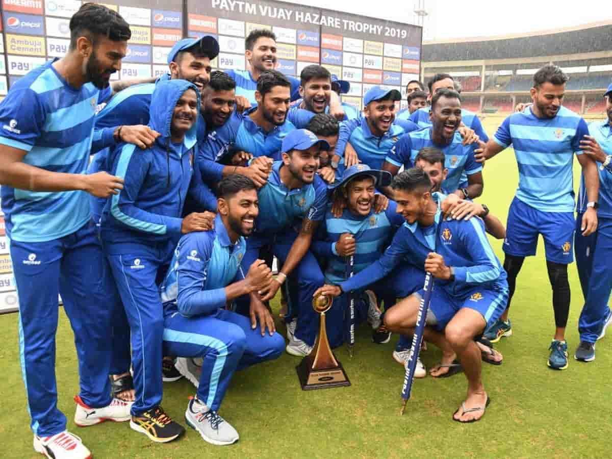 Cricket Image for BCCI Announces Schedule For Vijay Hazare Trophy 2021